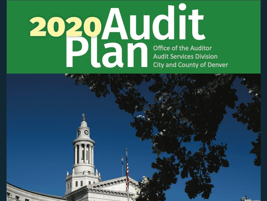 Auditor Announces Substantive, Impactful Plans for Upcoming Year