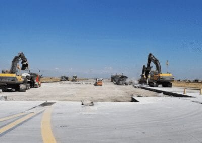 Interstate Highway Construction Inc. Contract