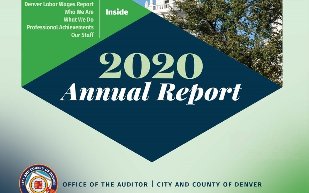 Auditor's Annual Report Showcases Exceptional Work on Behalf of Denver